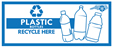 Plastic bottles and aluminum cans are banned from landfill disposal.